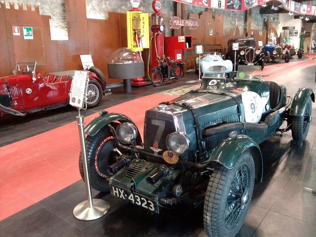 Visit at the Museum Mille Miglia in Brescia