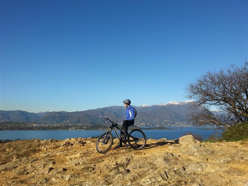 Wanderungen und Mountainbiketouren am Gardasee