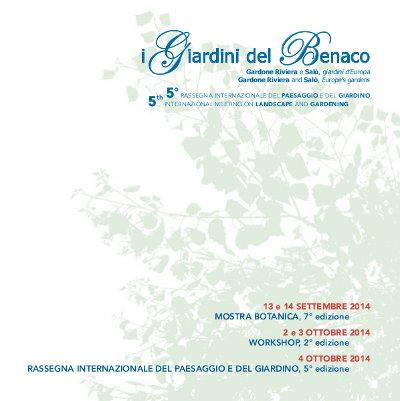I Giardini del Benaco 2014 Flower and plants exhibition